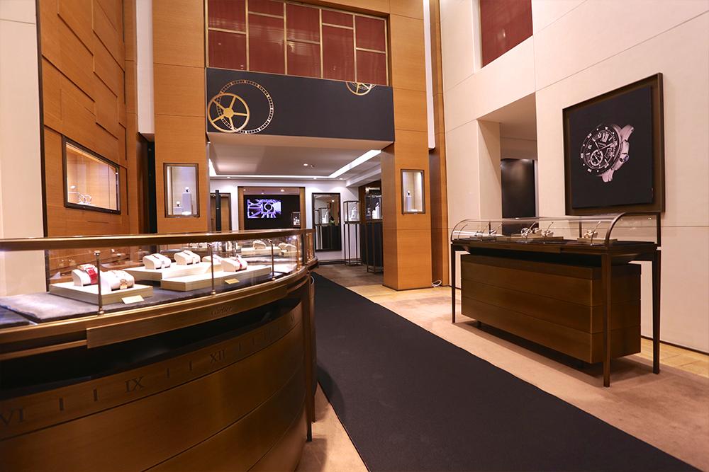 Inauguration Cartier