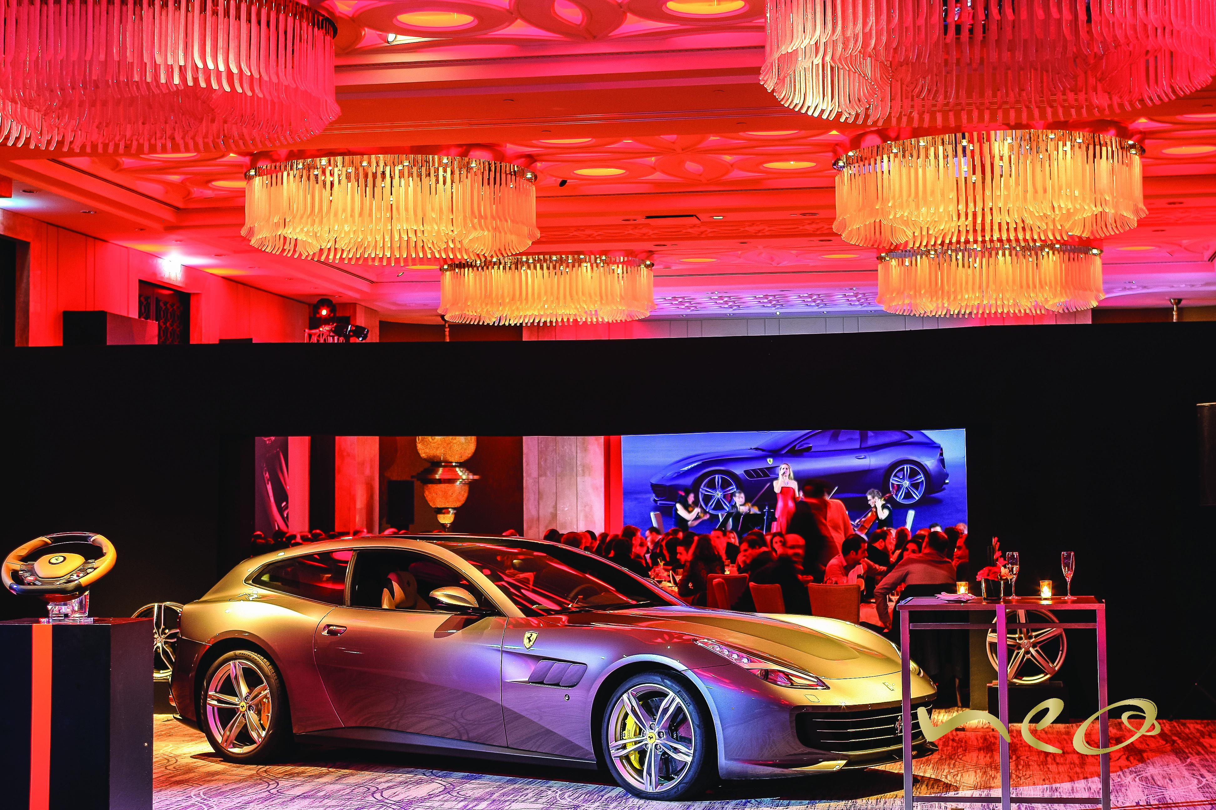 Lancement de la Ferrari GTC4 Lusso