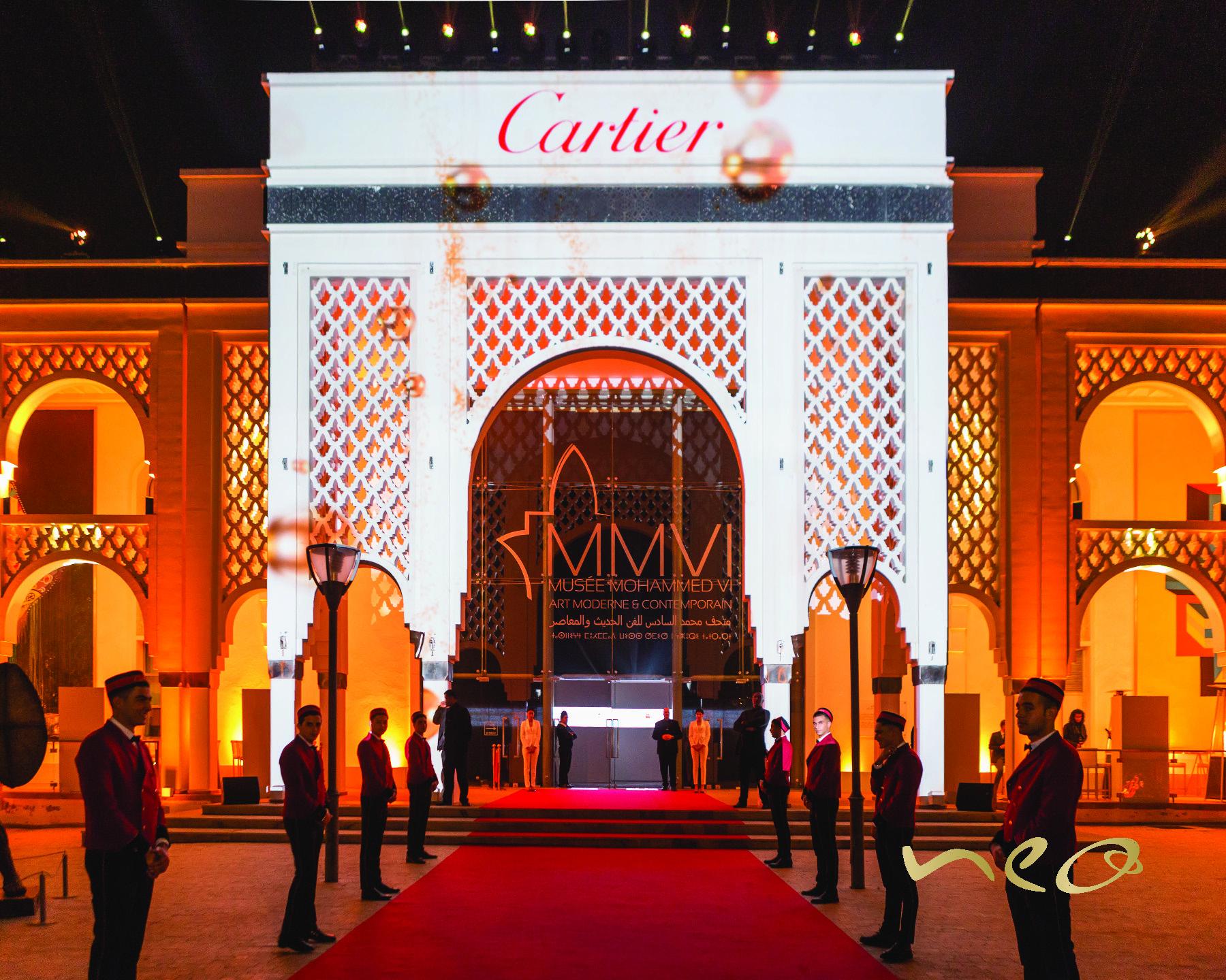 Cartier @ Musée Mohammed VI d'Art Moderne et Contemporain