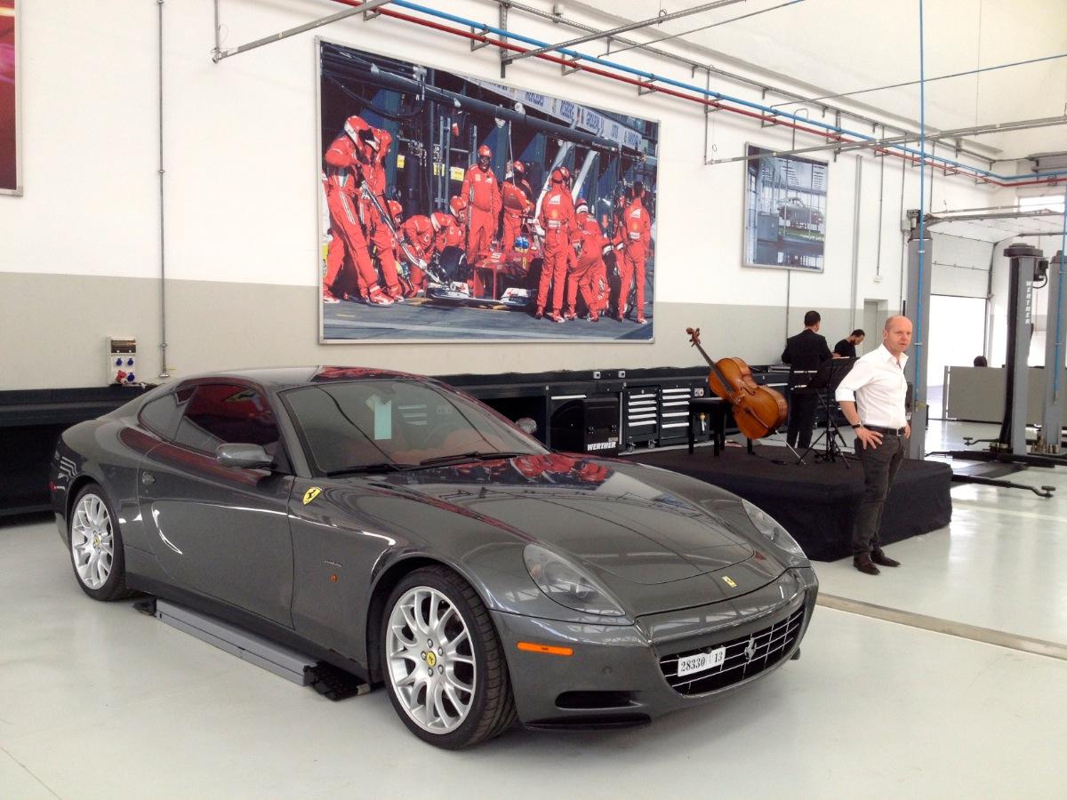 Ouverture de l'Atelier Ferrari