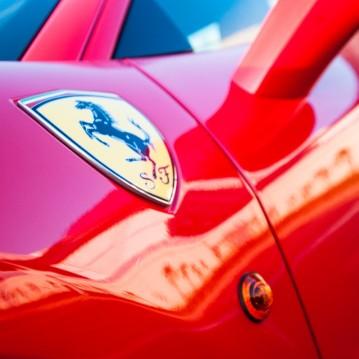 Inauguration maison Ferrari