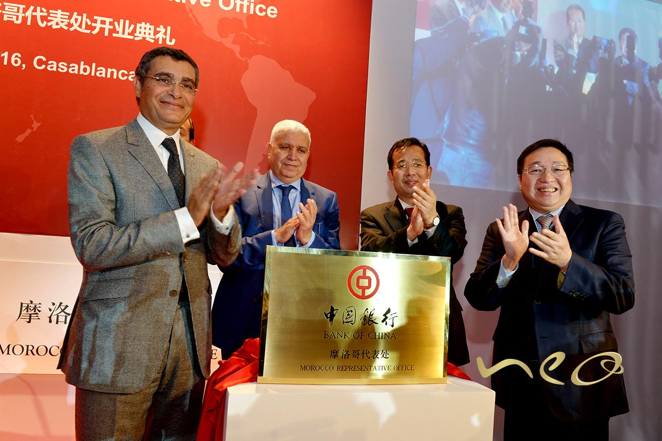OUVERTURE DU BUREAU DE REPRÉSENTATION BANK OF CHINA MAROC