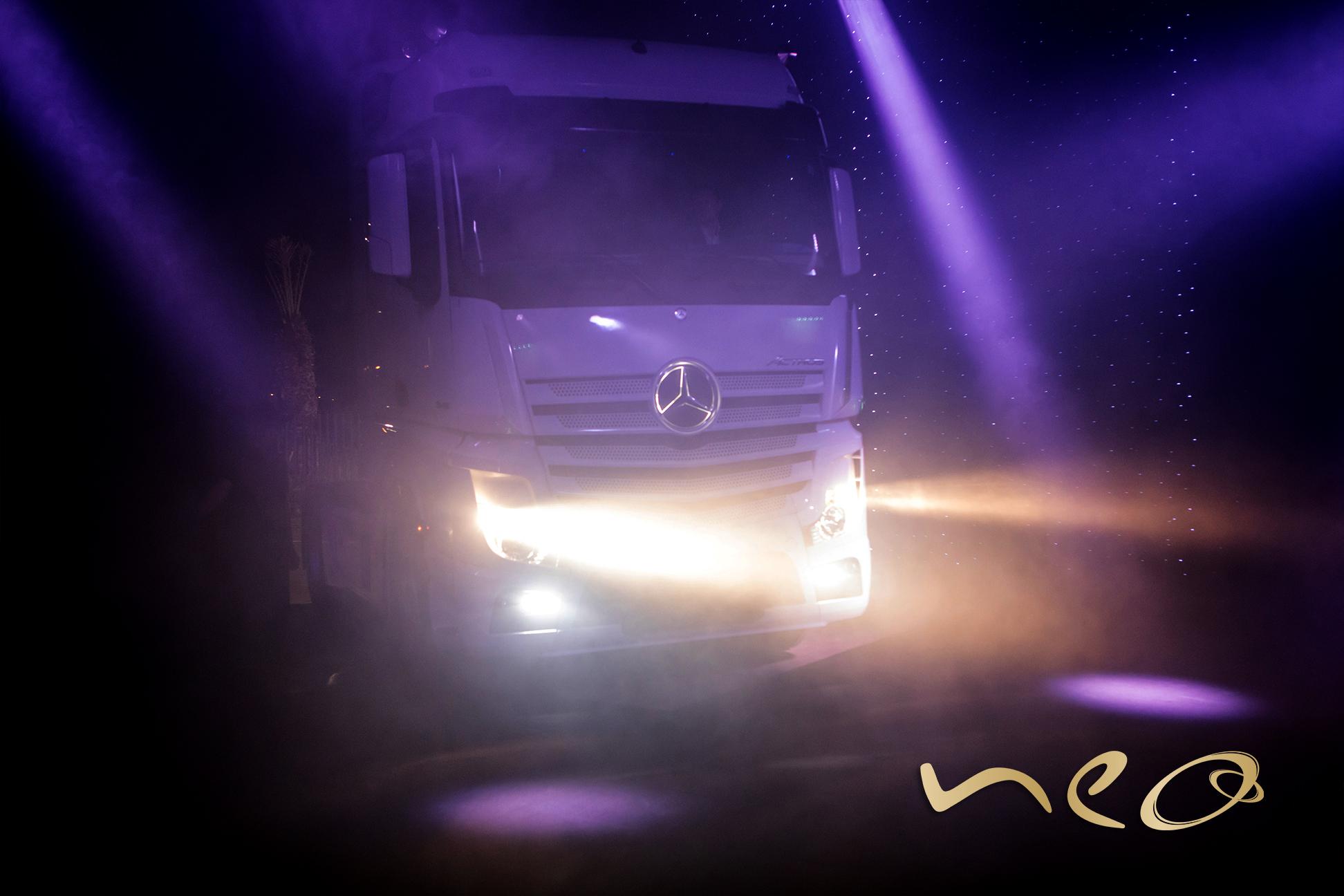 Lancement nouveau Mercedes-Benz Actros